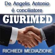 Conciliazione Giurimed-mediatore De Angelis Antonio